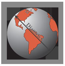 Graphic of extra large diameter globe