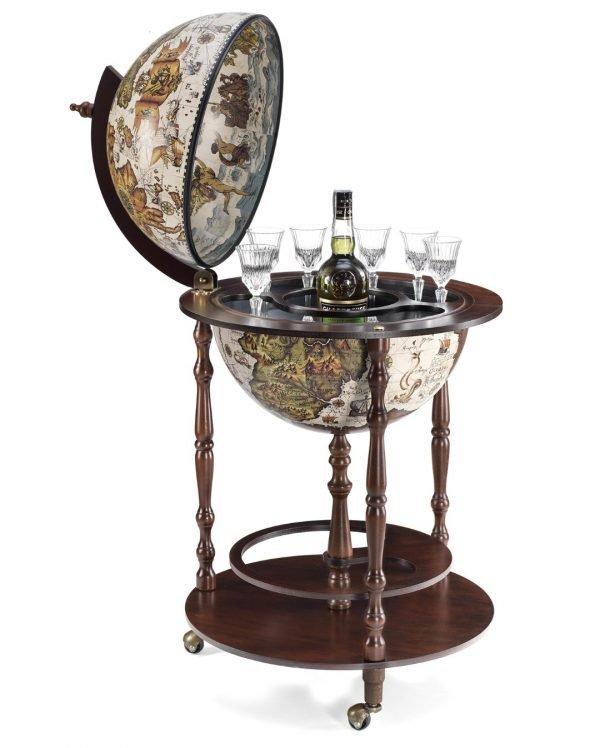 Product photo of the Vanesio ivory globe bar
