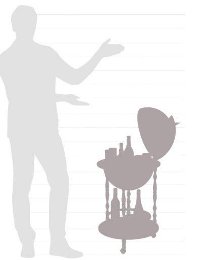 Vanesio size chart graphic