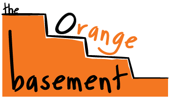 The Orange Basement logo for the About Us page