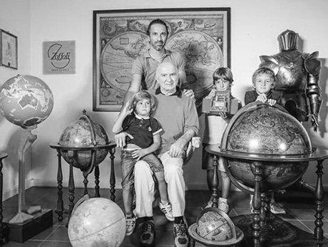 Photo of the Zoffoli family