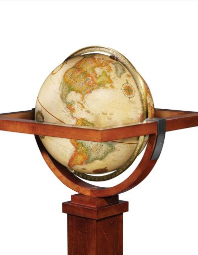 Product photo of The Wright Globe - globe close-up