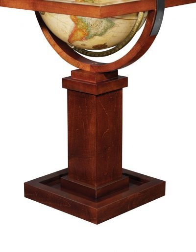 Product photo of The Wright Globe - stand close-up