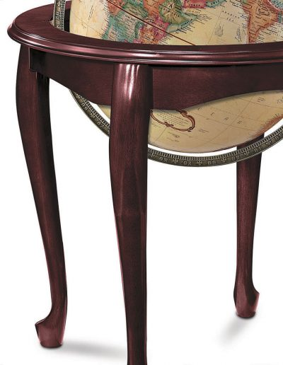 Product photo of The Queen Anne Globe - legs close-up