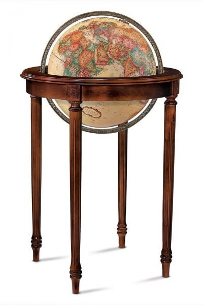 Product photo for the Regency Raised Relief World Globe