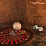 Barglobeworld's signature image for game set globes like this Old World Chess Set Globe