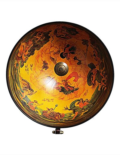 Product photo for the Davy Jones classic nautical globe bar - dome