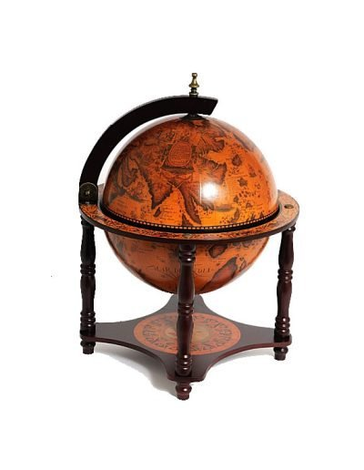 Product photo of the 4-Legged Old World table globe - closed