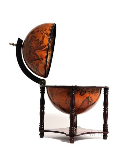 Product photo of the 4-Legged Old World table globe - side