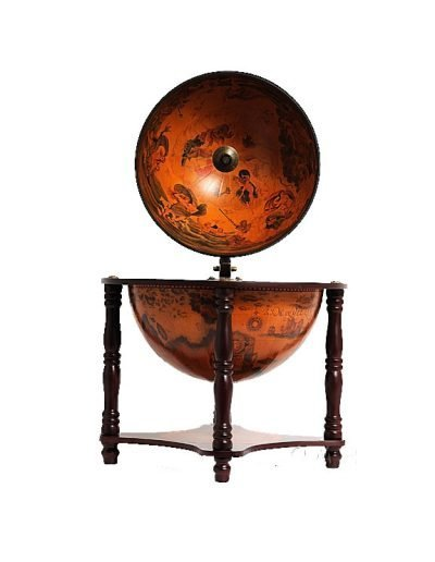 Product photo of the 4-Legged Old World table globe - front view