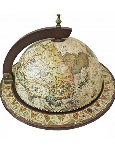 Product photo of the crema durata Sixteenth Century globe bar Italian-style replica - top view