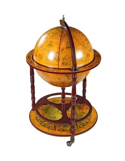 Product photo of the Sixteenth Century globe bar Italian-style replica - closed
