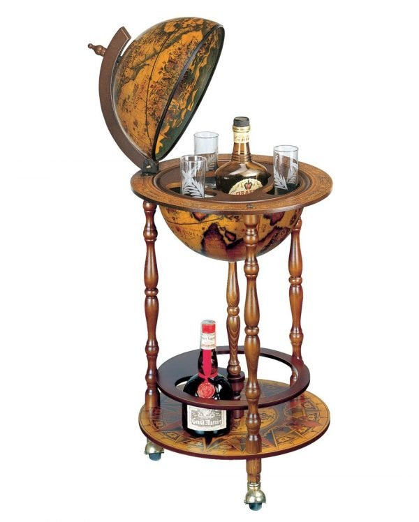 Product photo of The Octant globe drinks cabinet