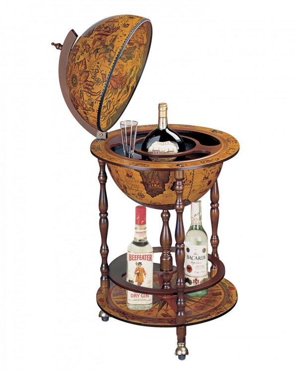 Product photo of the Pegasus Antique Globe Bar Replica