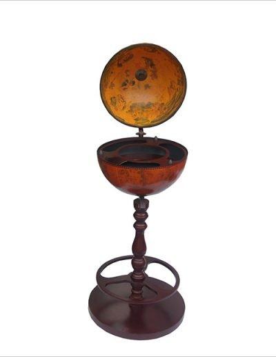 Product photo of the Roma old world globe bar - empty