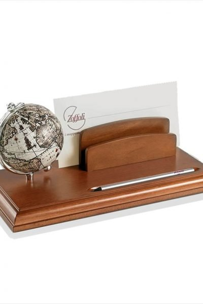 Product image for the Globe Letter Holder with 16th Century Replica Map