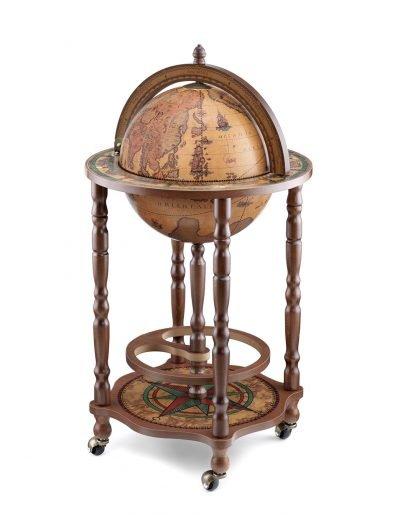 Product photo of the modest Crono mini bar globe - classic, closed