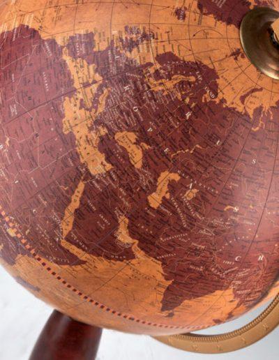 Studio photo the Gea Pisces floor globe.
