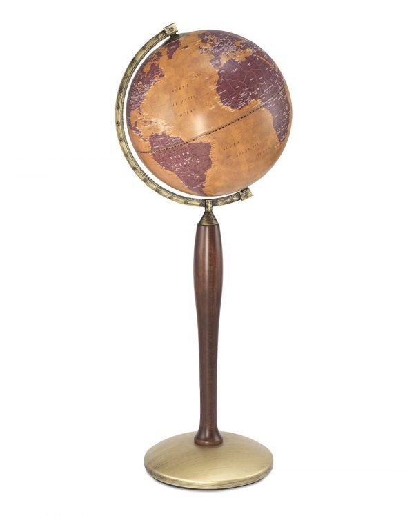 Product photo of the Gea Pisces Italian globe on tall stand