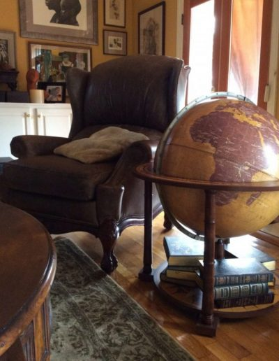 Customer photo of the Gea Aries extra large floor standing globe 1