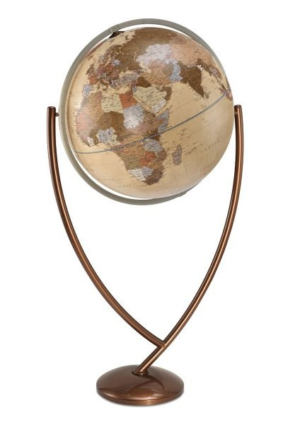 Product photo of the apricot colored Colombo extra large Italian globe