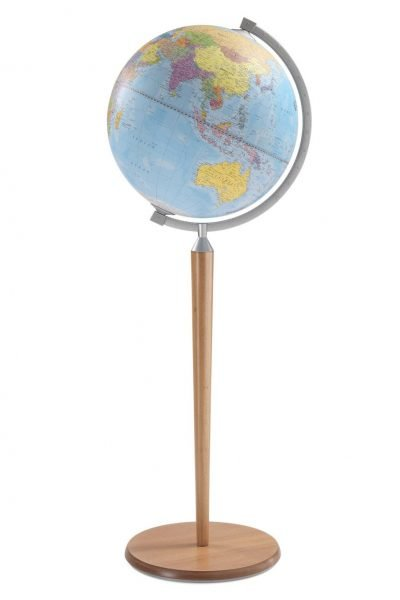 Product photo of the Vasco da Gama Blue Globe on Wooden Stand