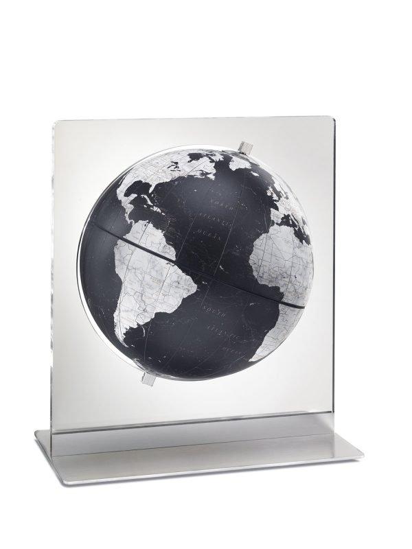 Product photo of the Italian Aria in Black desk globe.