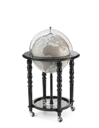 Product photo of the In Vogue Elegance Contemporary Globe Bar - black, closed