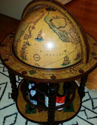 Customer photo of the Noble Italian Globe Bar Cabinet Bacco 2
