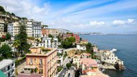 Photo of Napoli for the Napoli Nautical Bar Globe Cabinet
