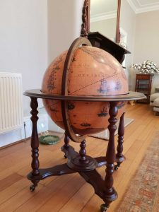 Customer photo of the Majestic Achilles Extra Large Bar Globe on Casters