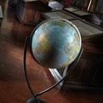 Studio photo for the Colombo Extra Large Italian World Globe | Light Blue
