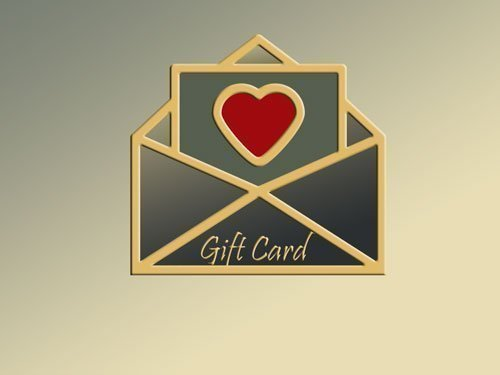 Image of a gift card in an envelope for use in the Globes Shop