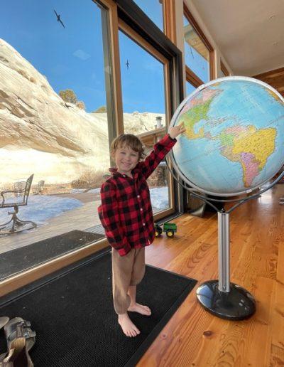 Customer photo of the Magellano World Globe on Stand - 1