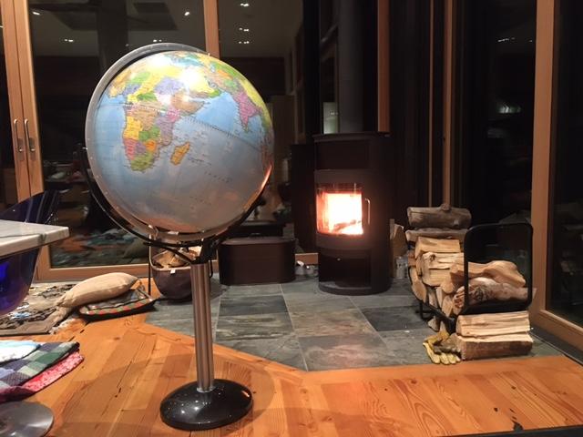 Customer photo of the Magellano World Globe on Stand - 2