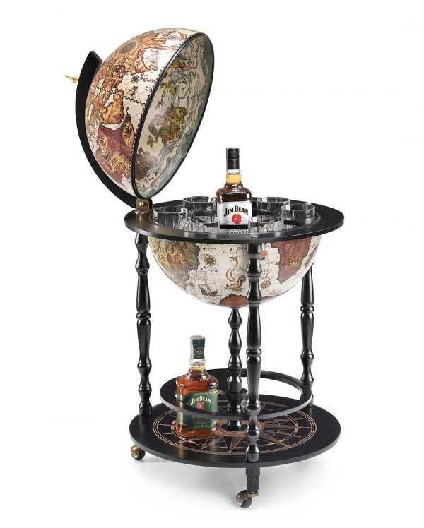 Black Globe Bar Vulcano catalog photo open